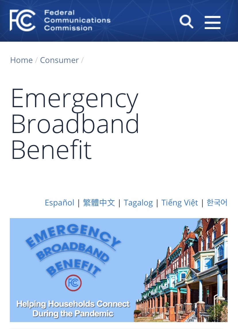 Need help to afford internet access?