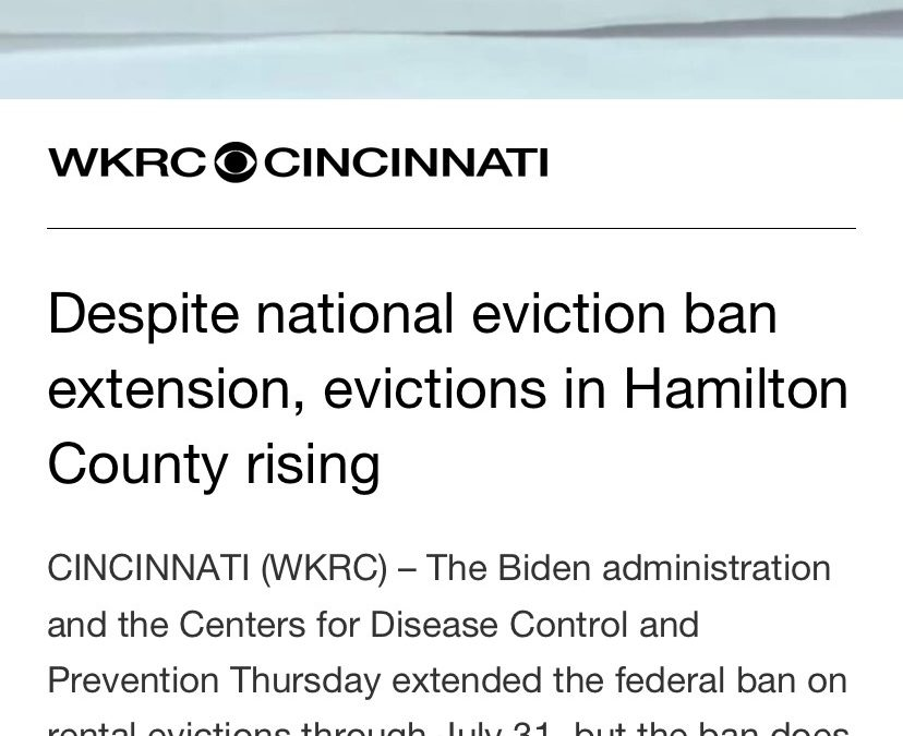 Increase in Evictions