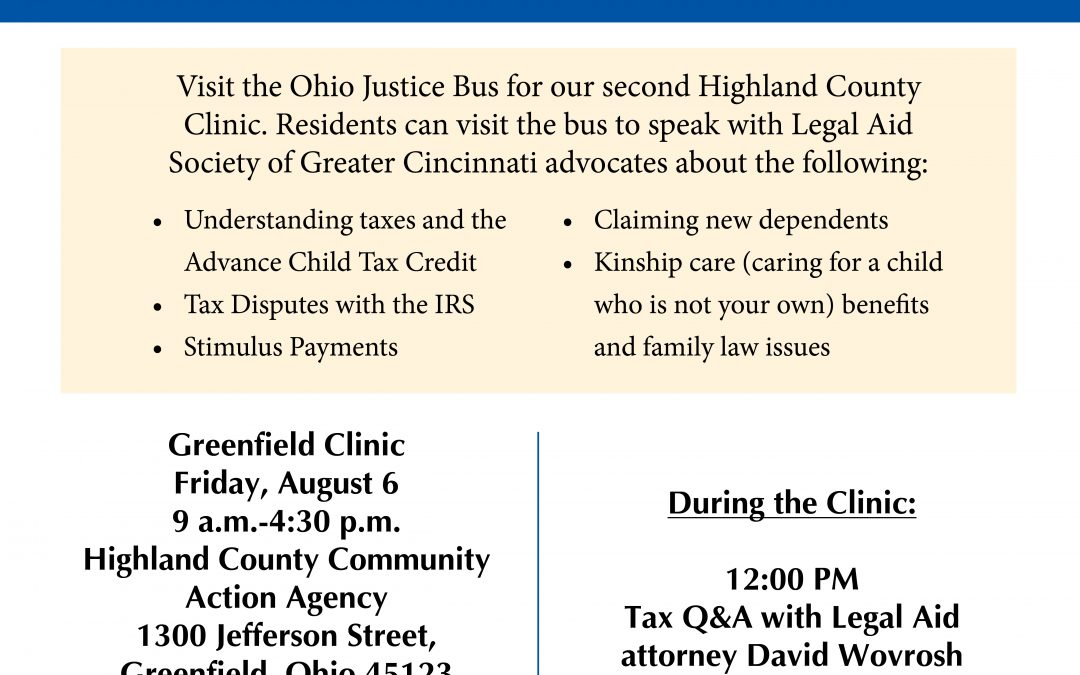 Join Us at Our Second Highland County Clinic