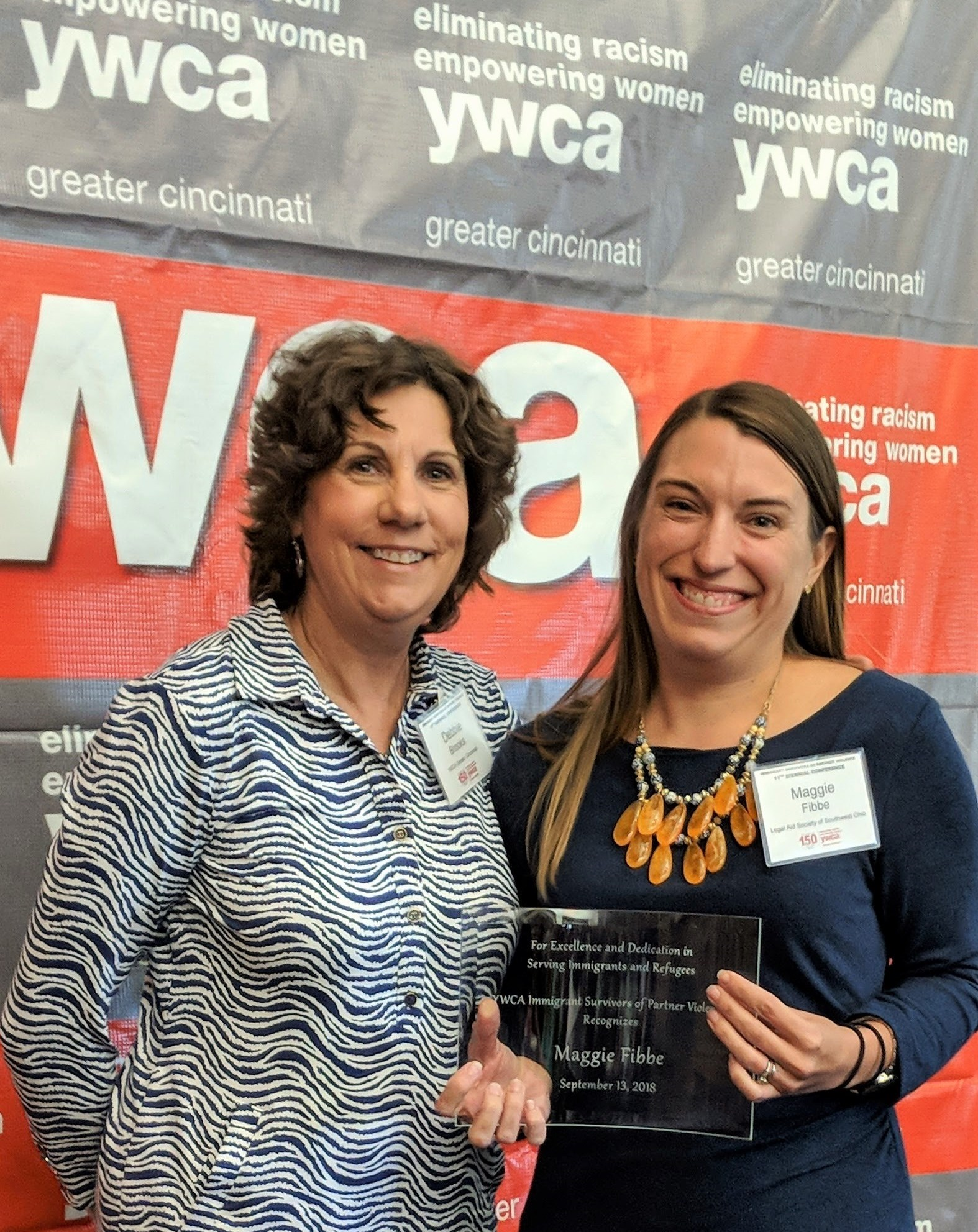 Maggie Fibbe, Senior Attorney, Wins Award from Immigrant Survivors of Partner Violence