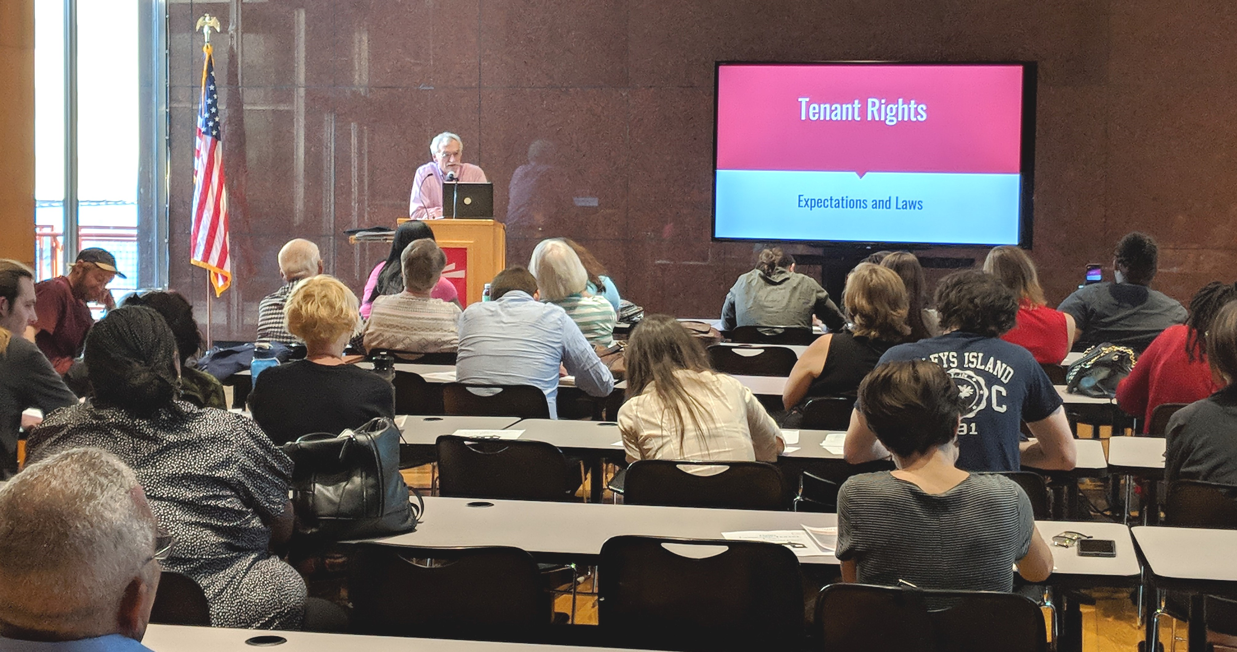 Know Your Rights Event Hosted to Educate Community On Lack of Affordable Housing